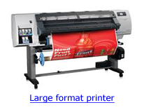 HP-L25500 Large Format Printer